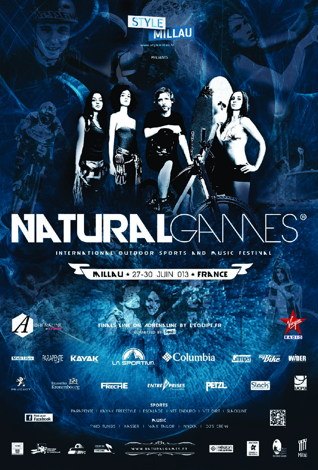 Affiche Natural Games 2013